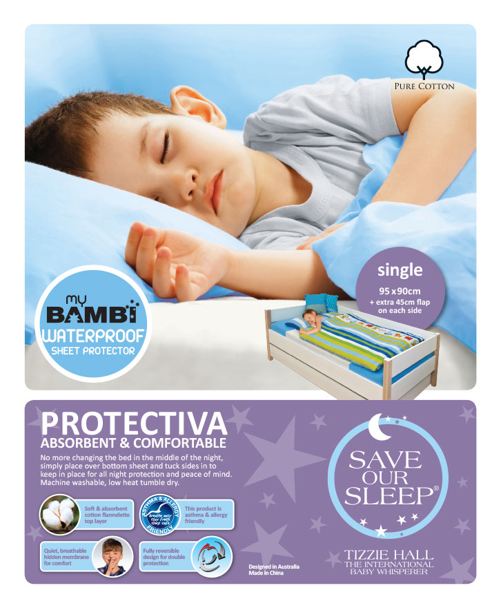 SAVE OUR SLEEP Tizzie Hall REVISED 2009 - Birth to Two - Baby Sleeping - BOOK