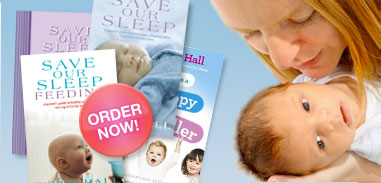 Save Our Sleep Feeding Book out Now! Tizzie Hall's Save Our Sleep Book, also keep baby warm with baby safe baby sleeping bags